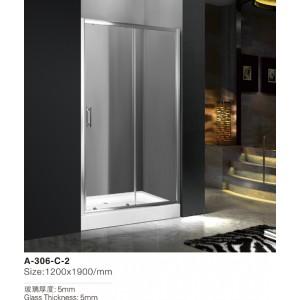 Душевая дверь Atlantis A-306-C-2, размер 120х190 - фото