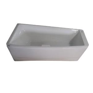 Акриловая ванна Volle TS-102/L,размер 170x75, асимметричная без гидромассажа, левая - фото