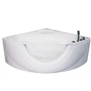 Акриловая ванна Volle TS-103, размер 150х150, угловая с окном